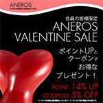 アネロス割引セール(アネロスバレンタインセール2021)
